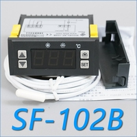 SF-102B 온도 조절기 전자 온도 조절 냉장고 냉장고 고전력 30a 수동 자동 셧다운 해동