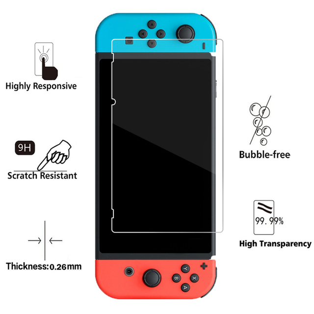 Nintendos Switch Storage Carrying Case + Nintend Switch Screen Protetor Galss Film + Soft TPU Case for Nintendo Accessories   5
