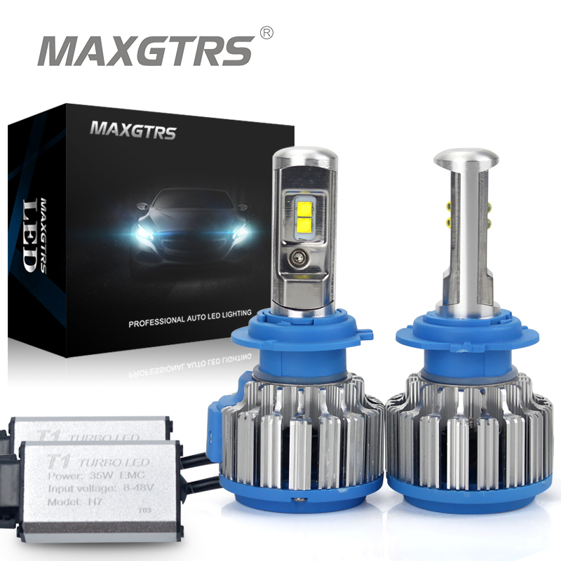 2x H1 H3 H7 H8 H11 9005 9006 Car Led Headlight <font><b>Conversion</b></font> Kit <font><b>Light</b></font> EMC Canbus 70W Auto DRL Front Fog <font><b>Light</b></font> Repalcement Bulb