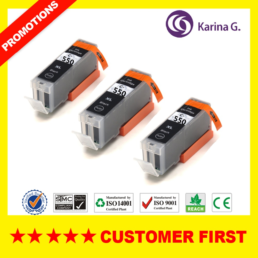 15pk Generic Printer Ink Cartridge For Pgi450 Pgi 450 Cli 451 Bk Canon 750xl Black 18 C M Y Gy 6 Color Compatible 5x Inkjet