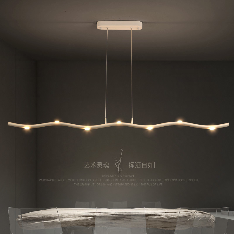 Modern LED chandelier dining room suspended lamps Nordic illumination living room lighting fixtures Restaurant hanging lights