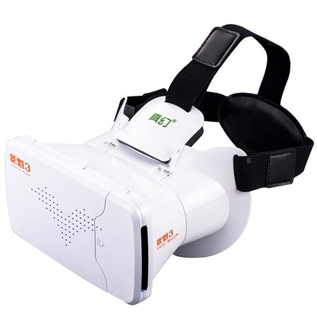 Adjustable Google Cardboard VR BOX Virtual Reality 3D Glasses For 4.7-6 inch smartphone Android iPhone 6S/6S Plus Wholesale