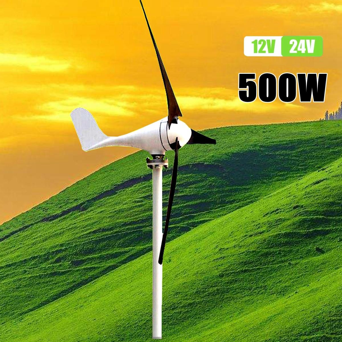 Max 600 Вт ветряной генератор комплект Max AC 12 В 24 В 3 лезвия вариант Aerogenerator