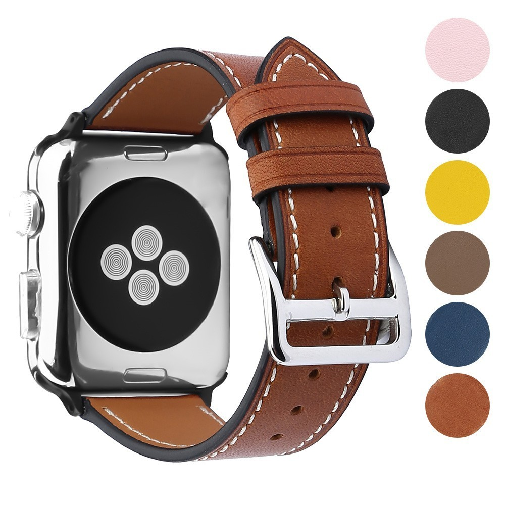 High-grade cowhide Replacement for apple watch bands 42mm series 4 3 2 1 iwatch accessories 38mm Bracelet Strap 44mm wrist 40mmHigh-grade cowhide Replacement for apple watch bands 42mm series 4 3 2 1 iwatch accessories 38mm Bracelet Strap 44mm wrist 40mm