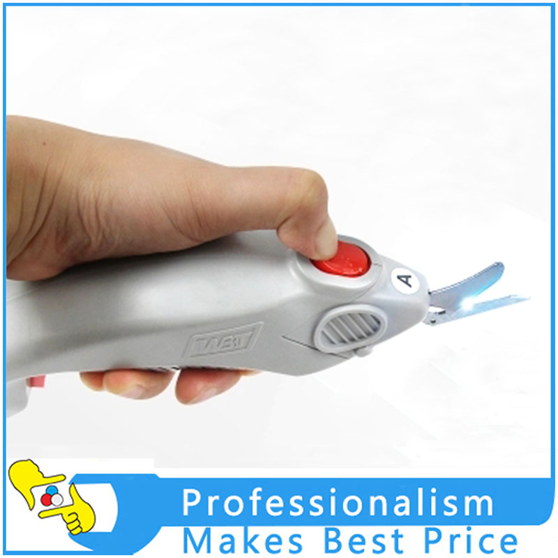 WBT Cloth Garment Cutting Knife Leather Cloth Hand-held Electric Scissors 4pcs wbt 0152ag 99 998