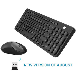 Quiet Wireless Keyboard Mouse