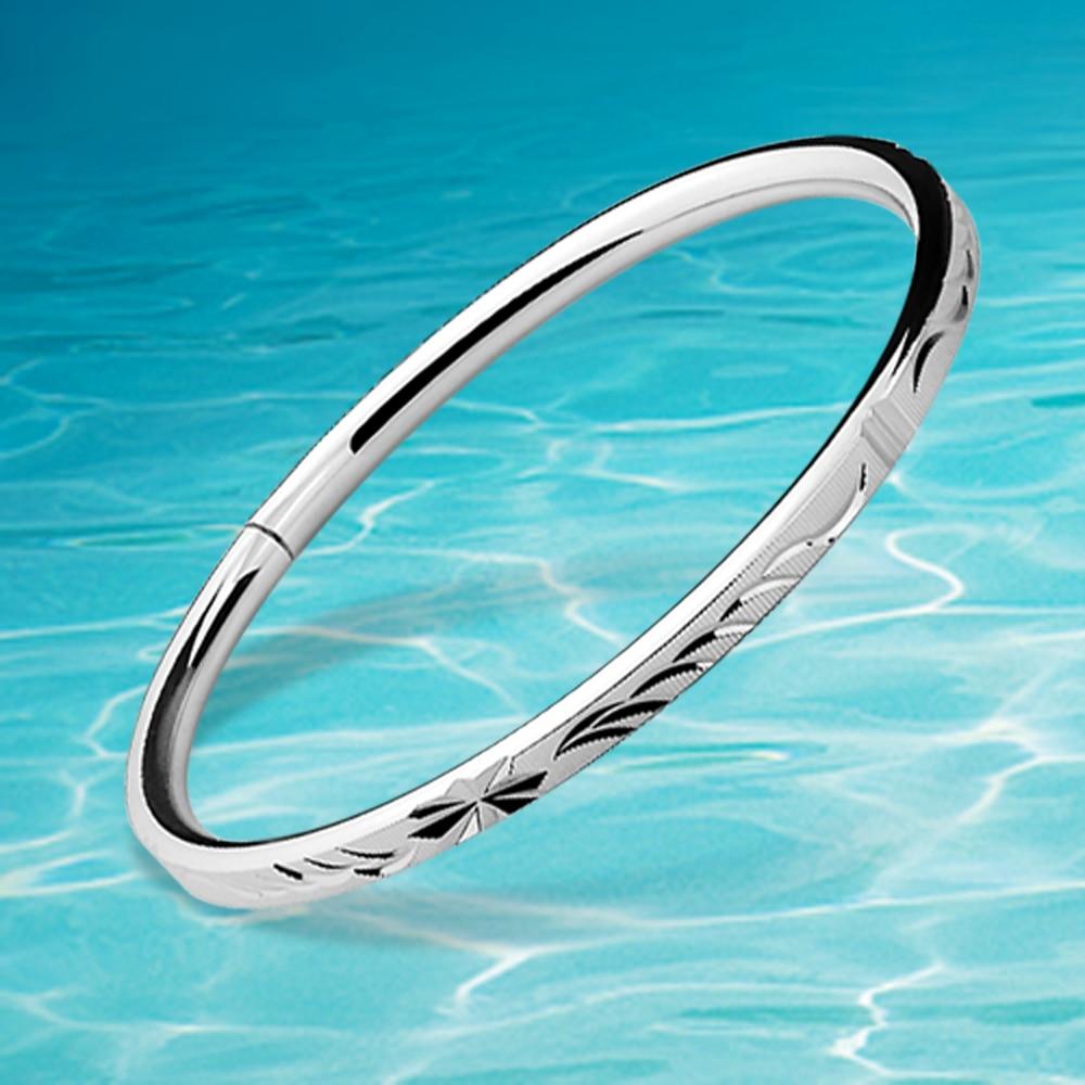 Venta caliente brazalete de moda femenina, brazalete de plata - Joyas