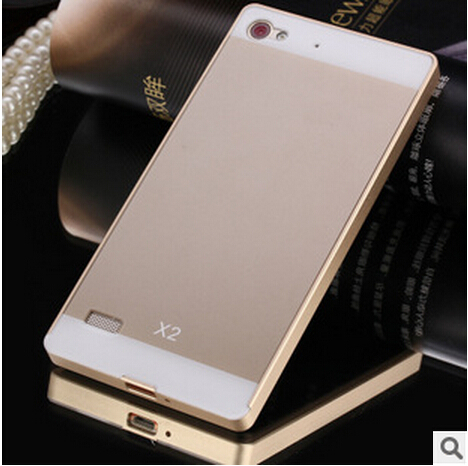 Lenovo vibe x2 Case,New Luxury Aluminum Frame Acrylic back Cover mobile phone Covers Cases For Lenovo vibe x2 Free shipping