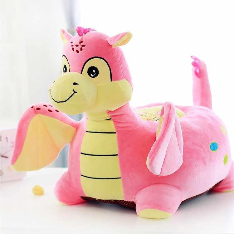 50x45 см мультфильм розовый плюшевый динозавр диван игрушечное татами, детский диван пол сиденье 0219