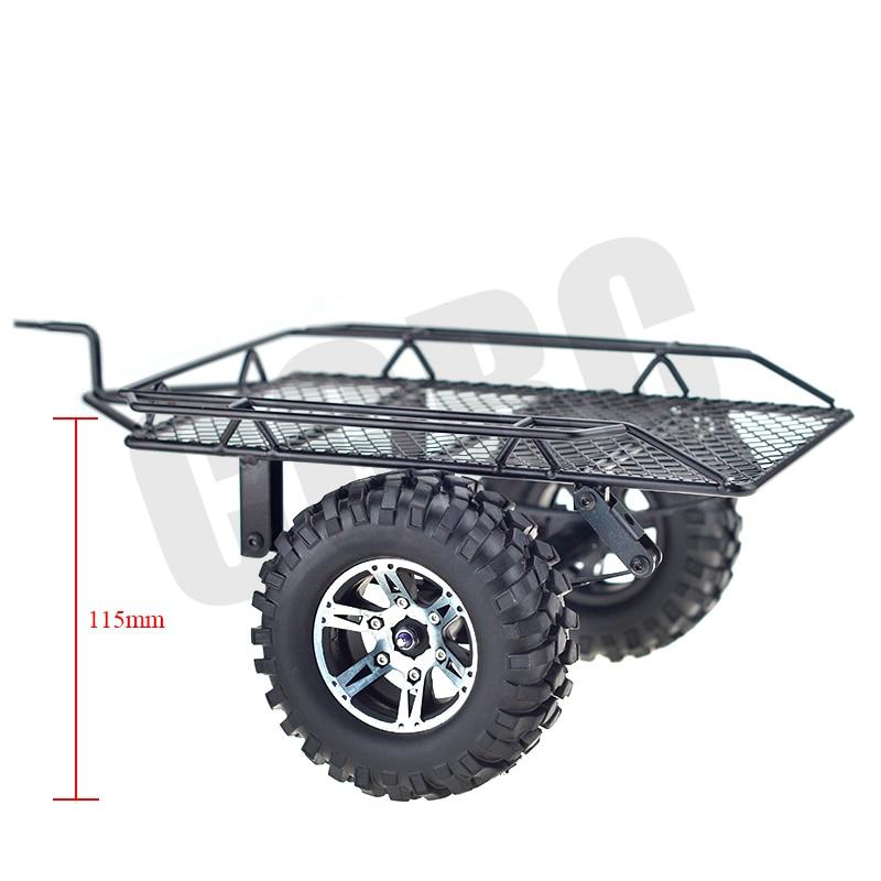 1/10 Simulation DIY trailer Car Hopper Trail For Tamiya Cc01 Axial Scx10 90046 90048 Rc4wd D90 Trx-4 Trx4  Rc Crawler