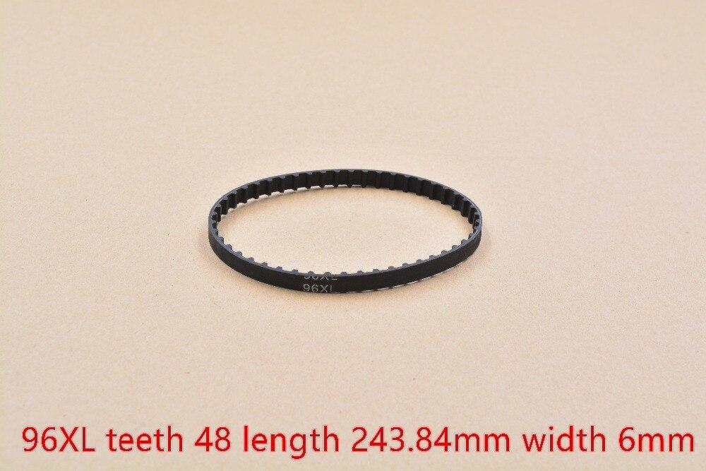 Impresora 3d de la correa 96XL circuito cerrado de dientes de la correa dentada