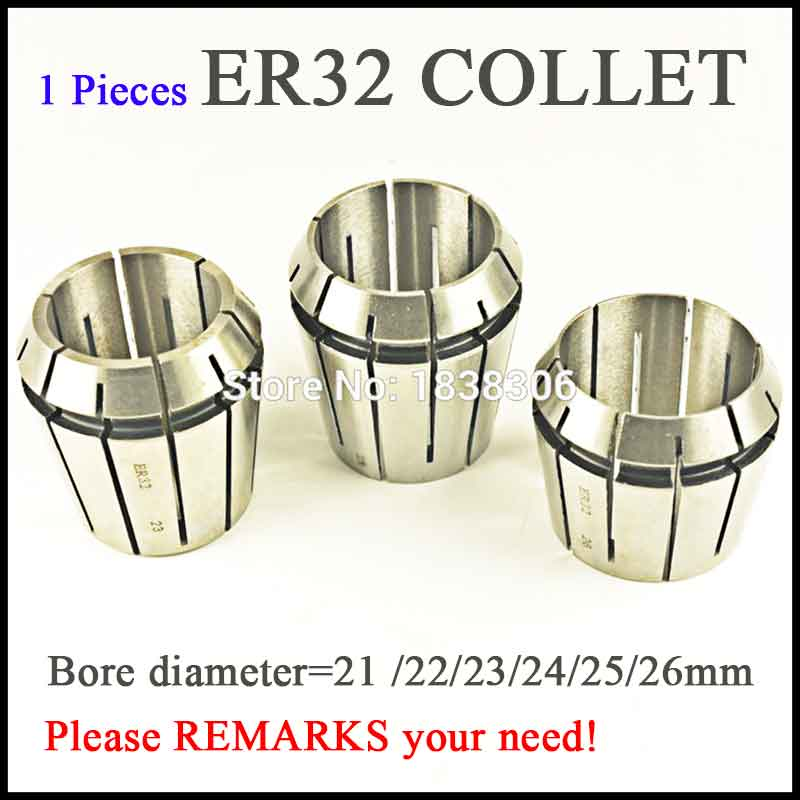 1pcs ER 32 ER32 Spring collet clamping tool collets drill chuck arbors for CNC milling lathe tool/milling cutter DIN 6499B milling cutter 14mm clamp dia straight spring collet