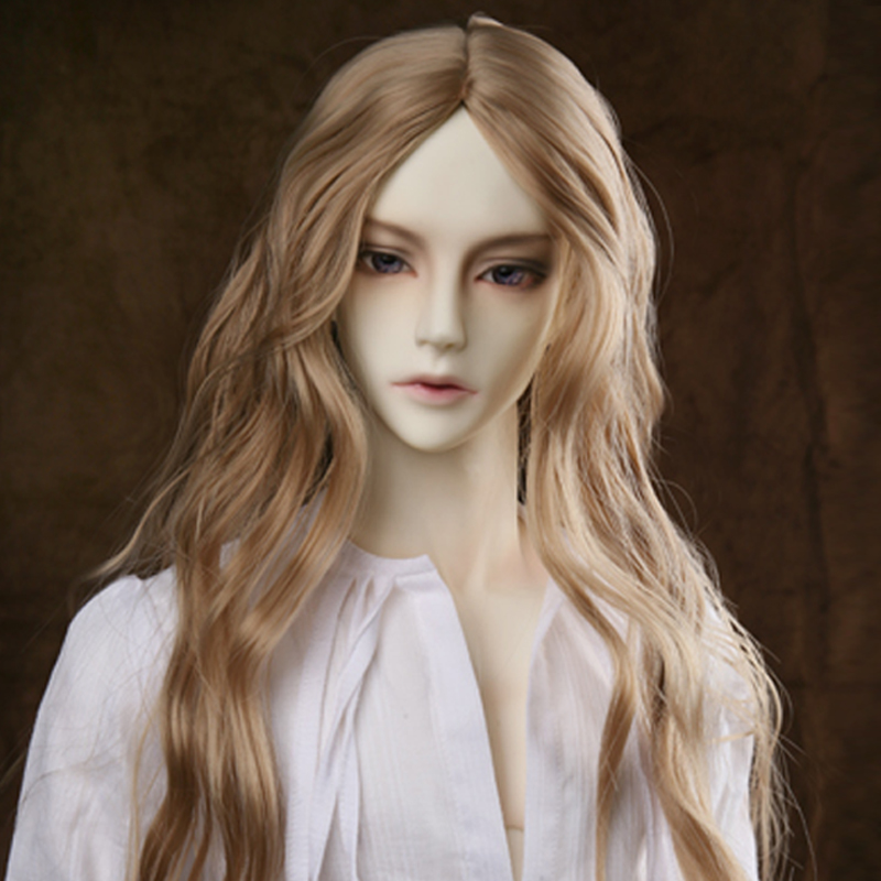 OUENEIFS free shipping wig 9-10 inch 1/3 high-temperature wig boy soom vampire long curly hair sd doll Wigs fashion stylish hair sofeel forum novelties colonial boy child wig white high temperature fiber cosplay wigs free shipping