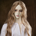 Oueneifs  9-10 inch 1/3 high-temperature wig boy soom vampire long hair bjd sd doll Wigs fashion type stylish hair