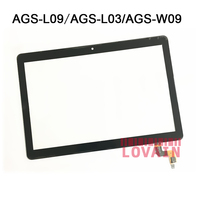 LOVAIN 10Pcs Black White For Huawei MediaPad T3 10 AGS L09 AGS W09 AGS L03 9