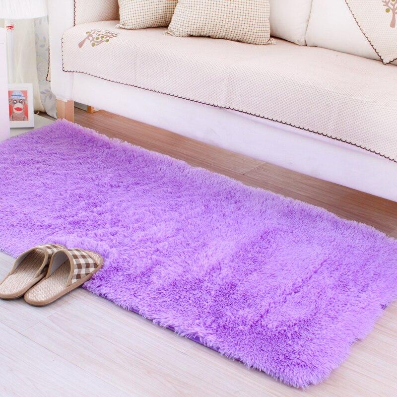 1PC Soft Big Carpets For Bedroom Strip Bedside Mat Strip Non-slip Rug Free Shipping