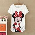 2016 New Style New Mouse Women T shirt Women Cotton Shirts Good quality T-shirts