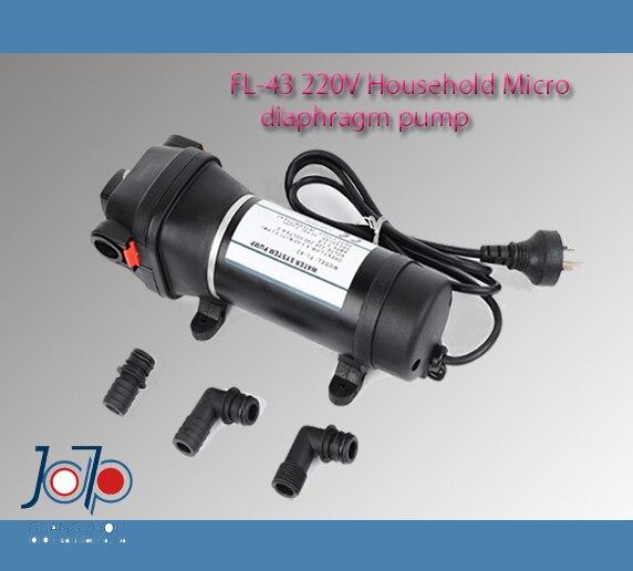 610 FL-43 220 V AC ménage Auto Auto-amorçage pompe à diaphragme pour chauffe-eau Trail Pipeline approvisionnement en eau - 3