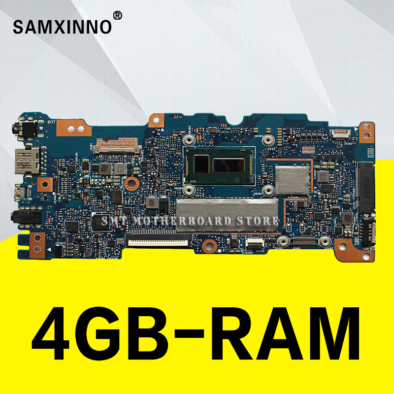 UX305FA Motherboatd 4 GB RAM for ASUS UX305 UX305F UX305FA U305F motherboard with M5Y10c UX305FA U305F board 100% testing for asus ux305 ux305ca ux305la ux305fa 13 3 inch touch panel with digitizer