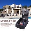 Starke zink legierung 4 Digit Kombination Passwort Tasten Box Schlüssel Lagerung Organizer Box Wand Montiert Home Security Code Lock Taste box-in Tresore aus Sicherheit und Schutz bei