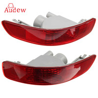 Red Halogen Rear Bumper Light Brake Fog Reflector Lamp For Mitsubishi Outlander EX 2007 2012