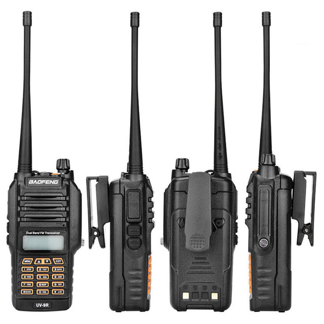 Baofeng BF UV9R 워키 토키 방수 보안 수동 주파수 변조 수신기 uv 듀얼 밴드 라디오 안테나 워키 토키