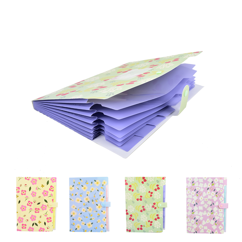 1pc brand new waterproof book paper file folder bag accordion style design document rectangle office home school 322317cm - Accordion Folder