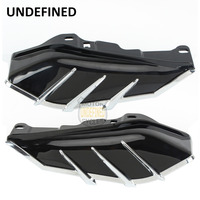 Motorcycle Bike Mid Frame Air Deflector Trim For Harley Touring Road King Street Glide Road Glide FLHX FLHR UNDEFINED