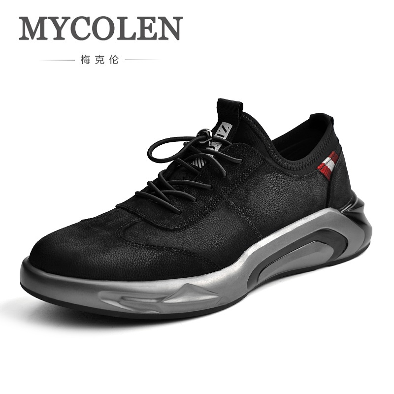 MYCOLEN Hot Sale 2018 Spring And Autumn Fashion High Quality Men Casual Shoes Tide Comfortable Breathable Youth Sneakers memunia spring autumn hot sale genuine