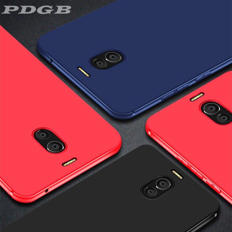 PDGB Matte TPU Case For Meizu 15 Lite M15 16th Plus 16 16X 16S M8 V8 Pro X8 Solid Color Candy TPU Soft Cover Shell