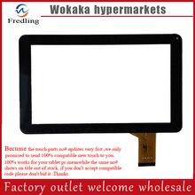 Nuevo 9 pulgadas Tablet Panel de Pantalla Táctil Digitalizador de Repuesto MF-626-090F FPC Negro