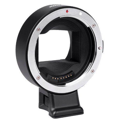 Viltrox ef-nex foco automático ii ef-e adaptador de lente de montagem para canon ef para sony nex e