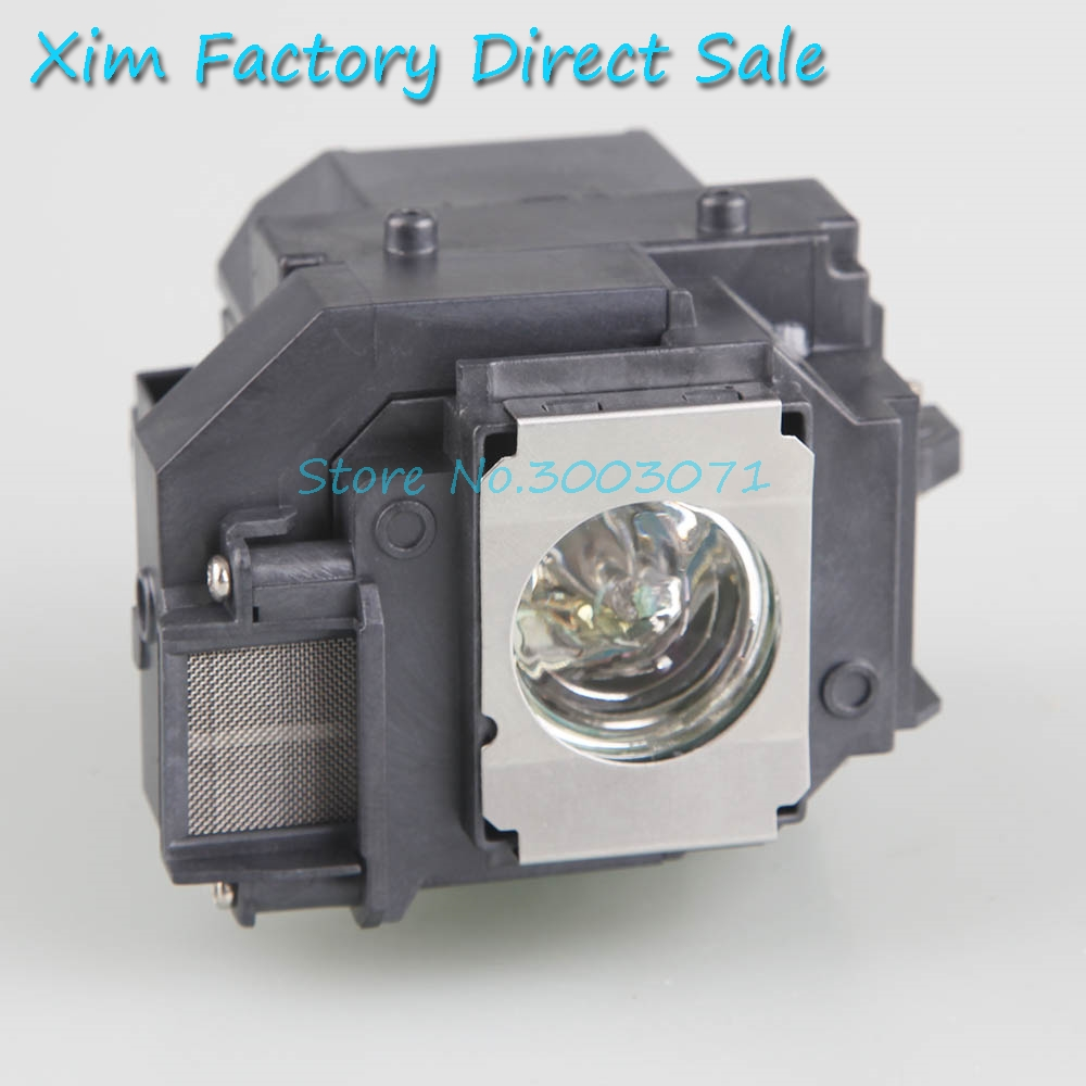 HIGH Quality ELPLp58 V13H010L58 Replacement Projector Lamp With Housing For EPSON EB-S10/EB-S9/EB-S92/EB-W10/EB-W9/EB-X10
