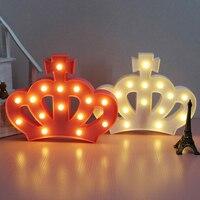 التاج الامبراطوري جنية الليل abs البلاستيك الصمام الجدول مكتب مصباح جو غرفة الزفاف الديكور هدية الإبداعية تأثيث المنزل
