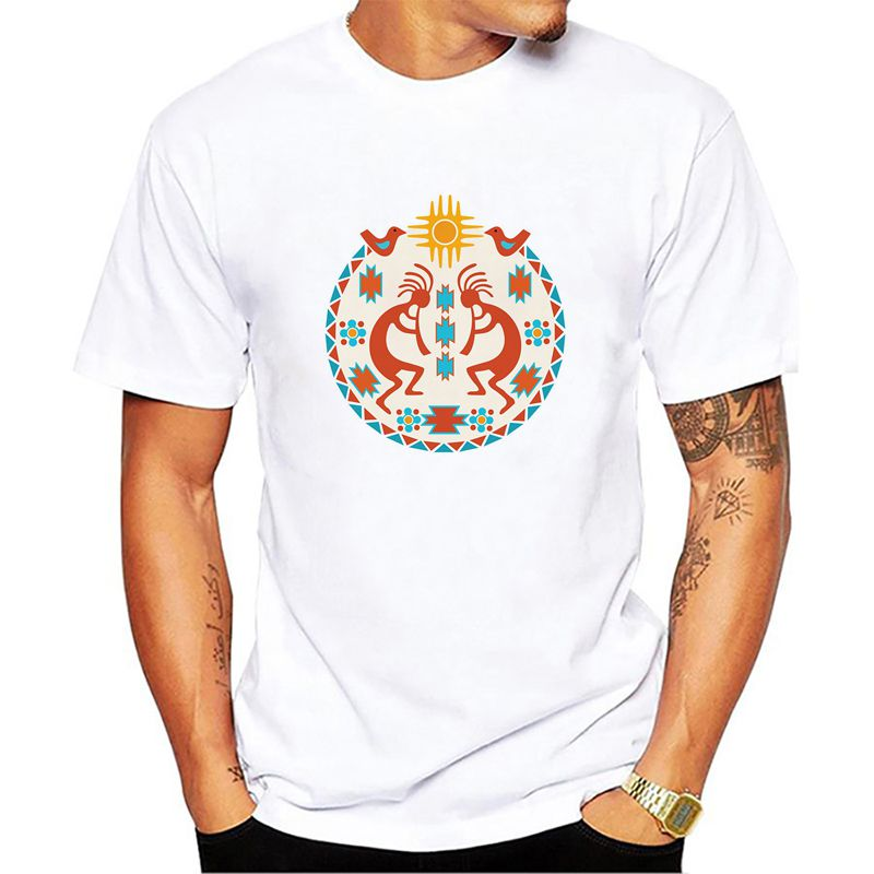 fashion design New Kokopelli Sun T Shirt Indian Native American Dance  Southwest Flute Shirt Design T Shirt Popular Tops-in T-Shirts from Men s  Clothing on ... 80fbd2ee1744