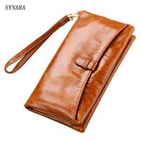 2017 Women Wallets Card Holder Zipper Coin Pocket Fashion Purse Women Natural Leather Portfolio Female Genuine Leather Wallet