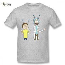 3D Print 100% Cotton Pickle Rick And Morty Tees T-shirt Men Popular Summer For Male Graphic Camiseta