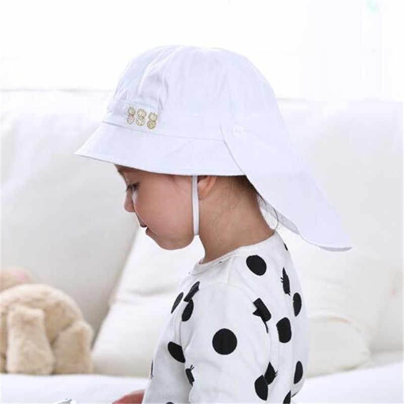 3c3f20950f38 Baby Hat Summer Boys Sun Hat Toddler Baby Girls Hats Autumn Kids Beach  Bucket Cap Children Beanies with Shawl Set Accessories