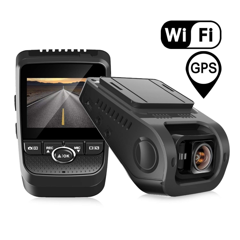 Pruveeo 112GW FHD 1080P Dash Cam Built in WiFi GPS Dash Camera for Car with Sony
