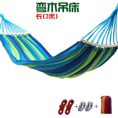 aliexpress     buy two person hammocks with stick outdoor furniture canvas hammock swing 300 150cm outdoor products 2017 whole sale hot quality new from     aliexpress     buy two person hammocks with stick outdoor      rh   aliexpress