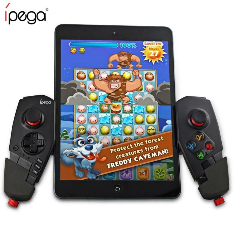 IPEGA 9055 PG-9055 Bluetooth Gamepad USB Android Telescopico Per Il Telefono pc Gamepad Game Controller di Gioco Joystick per iPad IOS