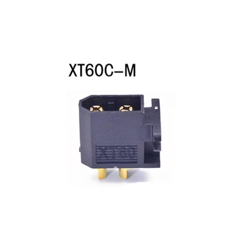 10Pcs Amass Vertical Fixture XT60 Plug Male XT60 Connector For RC Drone