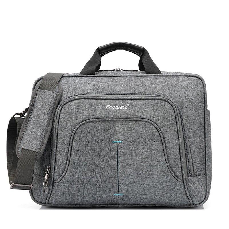 Men Laptop Briefcases Bag Business High Quality Waterproof 15.6' Computer Shockproof Handbag Zipper Simple Shoulder Bag XA211ZC