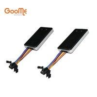 2 stks Groothandel Goome GM06NW GSM GPS Tracker Mini Voor Auto Motorfiets Micro Lokaliseren & Afgesneden Olie Power