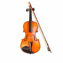 Professional Handmade 4/4 Full Size Acoustic Violin Fiddle Kit Solid Wood Matte Finish ebony Face Board 4-String violin TL003-2