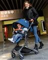 2017 babysing nueva plegable de peso ligero de alta paisaje paraguas buggy, descanse por completo cochecito de bebé, cochecito para niños, cochecito