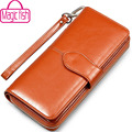 Magic Fish wallet women dollar price leather purse high quality wallets brands purse female bag pouch bolsas money bag LS4917mf