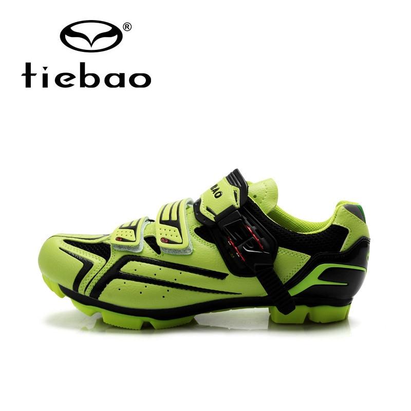 Tiebao Professional Mountain Bike Shoes Men Women MTB Shoes Zapatos de ciclismo Wear-resistant Bicycle Sheos Cycling Shoes