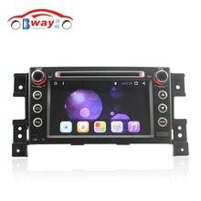 Bway android 6.01 rádio do carro para suzuki grand vitara grand nomade 2005-2011 android dvd player do carro com wi-fi ligação espelho