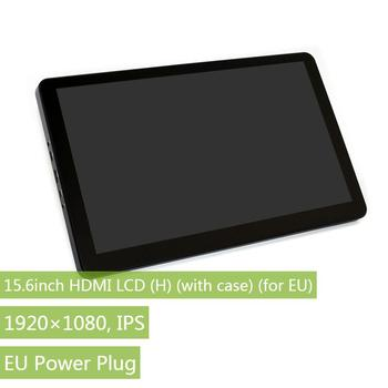 Waveshare 15.6inch IPS 1920*1080 Capacitive Touch Screen LCD with Toughened Glass Cover HDMI Display for Raspberry Pi BB Black